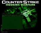 CS Modern Warfare GUI for Counter-Strike 1.6 top view