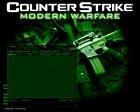 CS Modern Warfare GUI for Counter-Strike 1.6 top view