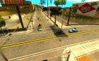 Качественные дороги в LS для GTA San Andreas вид сзади слева