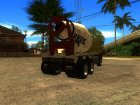 Cement Truck из GTA IV for GTA San Andreas left view