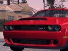2017 Dodge Challenger Demon для GTA San Andreas вид сбоку
