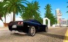 Chevrolet Corvette C5 Z06 для GTA San Andreas вид сверху