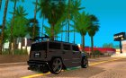 AMG H2 HUMMER Jvt's HARD exclusive TUNING для GTA San Andreas вид сверху