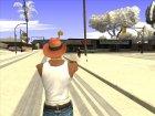 Ковбойская шляпа из GTA Online для GTA San Andreas вид справа