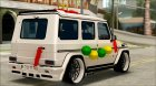 Mercedes Benz G65 Hamann Tuning Wedding Version для GTA San Andreas вид сверху