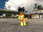 Braeburn (My Little Pony) для GTA San Andreas вид слева