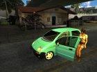 Женские автомобили для GTA San Andreas вид справа