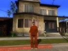 Claude Prison Uniform GTA 3 для GTA San Andreas вид слева