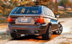 BMW X5 E53 2005 Sport Package 1.1 для GTA 5 вид сзади