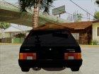 ВАЗ 2109 Бандитка Девятка для GTA San Andreas вид сверху