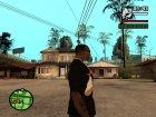 "Футболка с знаком зодиака ""Весы"" для GTA San Andreas вид сзади слева"