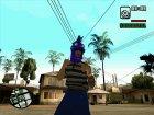 Бандит из Ацтек для GTA San Andreas вид сбоку
