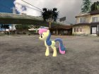 Bon-Bon (My Little Pony) для GTA San Andreas вид изнутри