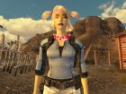 Jill Valentine BSAA Outfit for Fallout New Vegas rear-left view
