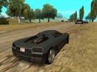 GTA V - Entity XF для GTA San Andreas вид сзади слева