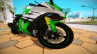 Kawasaki ZX-10R 2015 for GTA San Andreas right view