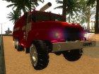 Урал 375 Виктора Кибенка V 2.0 Оригинал для GTA San Andreas вид изнутри