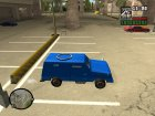 FBI Truck Civil Paintable by Vexillum для GTA San Andreas вид изнутри