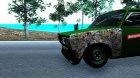 "Ваз 2105 ""Боевая Классика"" for GTA San Andreas rear-left view"