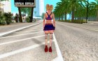 Juliet Starling 1 for GTA San Andreas rear-left view