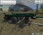 БГР 4.2 Солоха для Farming Simulator 2013 вид сзади слева