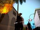 """Магический серебряный посох """"Доброй Розовой Феи"""" - повелительницы шальных единорогов for GTA San Andreas rear-left view"""