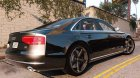 2010 Audi A8 FSI 4.0 for GTA 5 left view