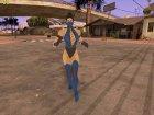 Голос Китаны из Mortal Kombat и женские анимации для GTA San Andreas вид справа