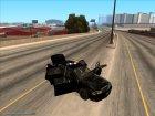 Машина полиции 2-го уровня розыска из NFS MW v2 для GTA San Andreas вид сбоку
