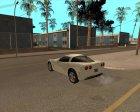 Chevrolet Corvette C6 в стиле SA for GTA San Andreas left view