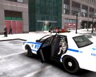 """NYPD-ESU K9"" 2010 Ford Crown Victoria Police Interceptor для GTA 4 вид изнутри"