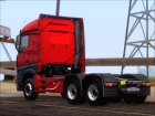 Mercedes-Benz Actros MP4 Stream Space black  6x4 V2.0 для GTA San Andreas вид сверху