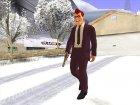 Skin GTA V Online в маске for GTA San Andreas rear-left view