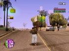 Оригинальные анимации GTA V для GTA San Andreas вид сзади слева