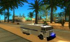КамАЗ-65116 Полиция Водомёт для GTA San Andreas вид слева
