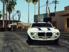 1969 Pontiac Firebird Trans Am Coupe (2337) для GTA San Andreas вид сверху