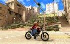 Ducati Monster для GTA San Andreas вид изнутри