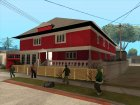 Red House CJ for GTA San Andreas top view