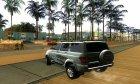 УАЗ-Patriot 2018 для GTA San Andreas вид слева
