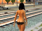 Topless Female from Black Desert for GTA San Andreas back view