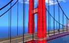 Новые текстуры трёх мостов в SF для GTA San Andreas вид слева
