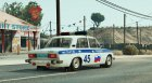 VAZ-2106 Police for GTA 5 rear-left view