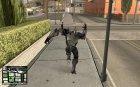 Bat Suit for GTA San Andreas rear-left view