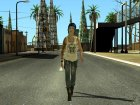 Chloe Price From Life Is Strange (Price Shirt Episode 4) для GTA San Andreas вид слева