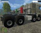 MAN TGS 41.480 SZM 8×8 V 5.1 for Farming Simulator 2015 rear-left view