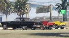 1957 Ford Thunderbird for GTA 5 top view
