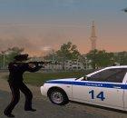 Полицейская девушка ППС России for GTA San Andreas rear-left view