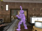 Bonnie из Five Nights Att Freddy's для GTA San Andreas вид сверху