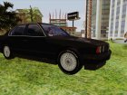 BMW 535i (E34) for GTA San Andreas rear-left view