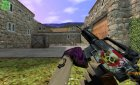 M4A1 Skin by [B]lackShadow для Counter-Strike 1.6 вид сзади слева